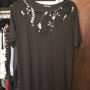 Pretty little thing holiday shirt dress S16